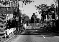 Fukushima Exclusion Zone no. 4 (Gate)